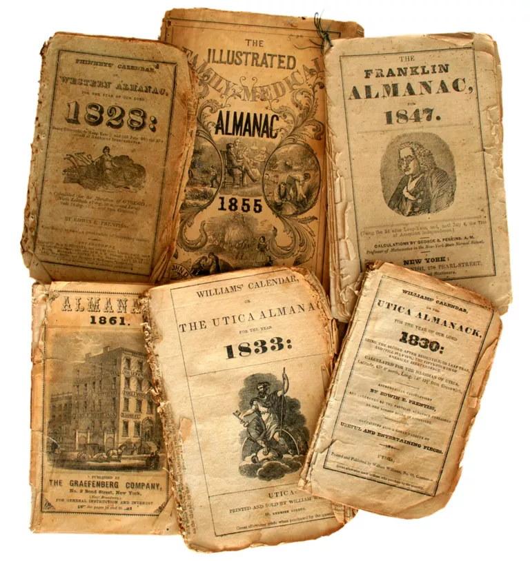 Antique Almanacs